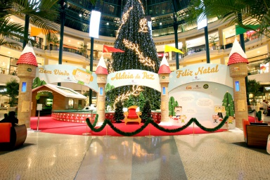 Christmas Promote Brands At Christmas Mallactivation